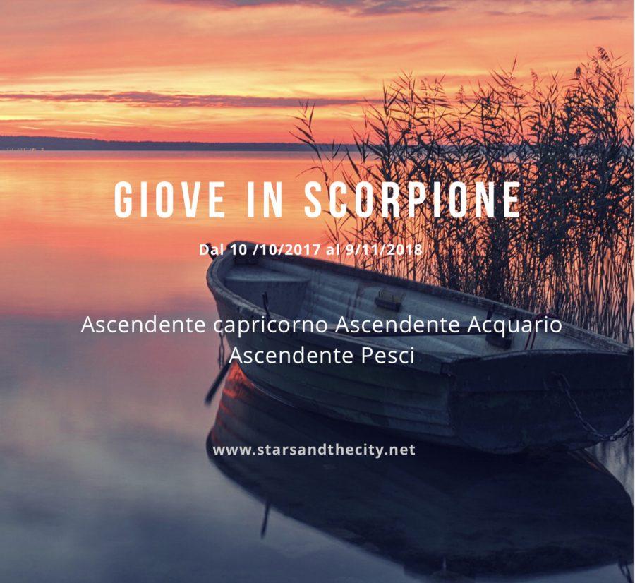 Giove in Scorpione, starsandthecity, liabucci