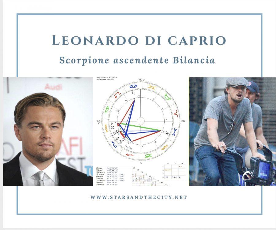 Leonardo, dicaprio, scorpione, ascendente, bilancia, starsandthecity,
