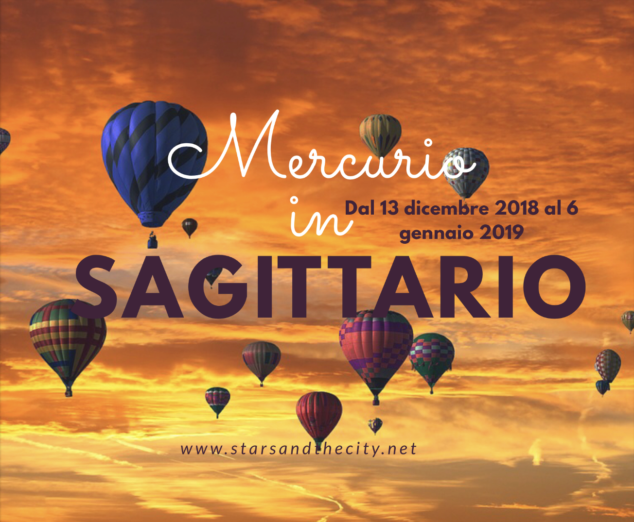 Mercurio in sagittario