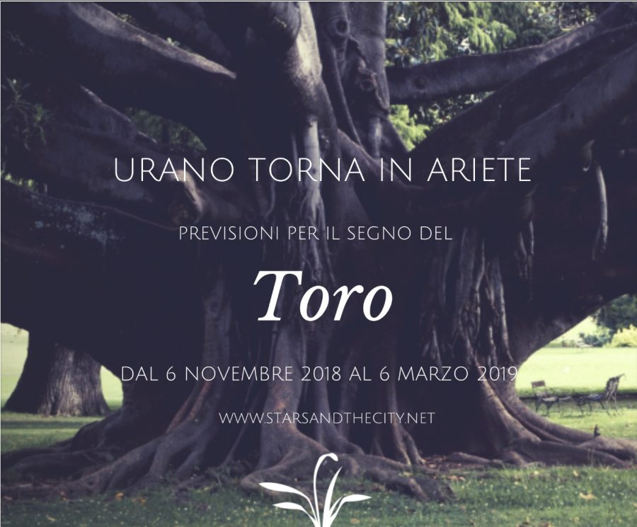 Urano retrogrado in ariete toro