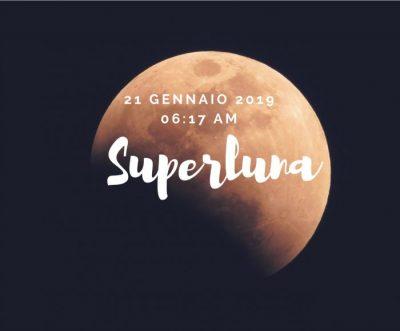 Eclissi di superluna 21 gennaio