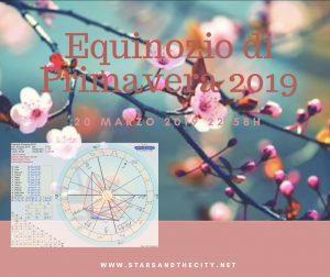 Equinozio di primavera 2019, astrologia, starsandthecity