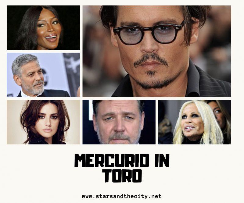 Mercurio in toro