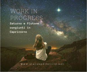 Saturno e Plutone in capricorno
