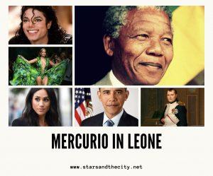 Mercurio in leone