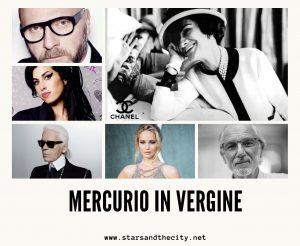 Mercurio in Vergine
