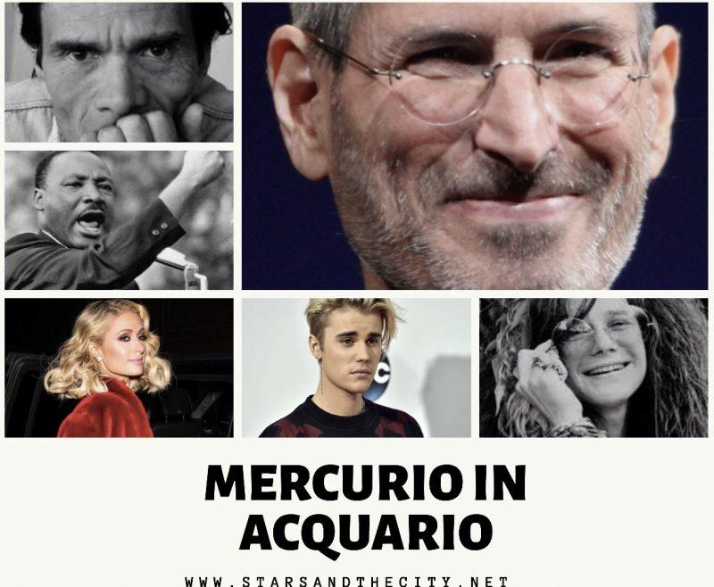 Mercurio in acquario