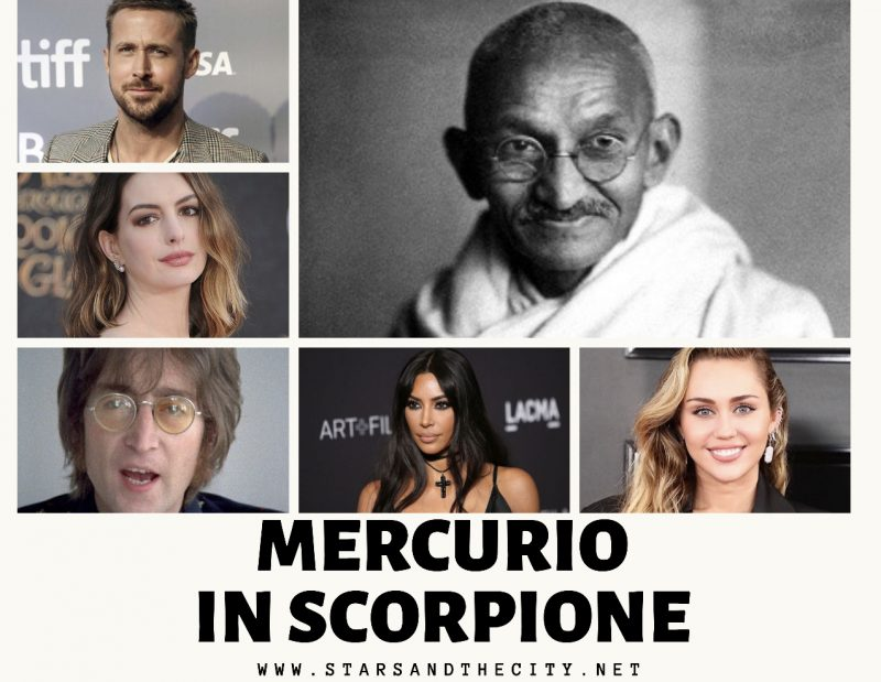 Mercurio in Scorpione