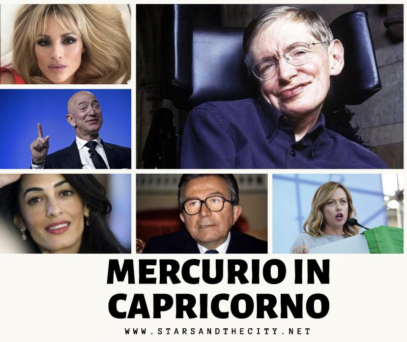 Mercurio in capricorno