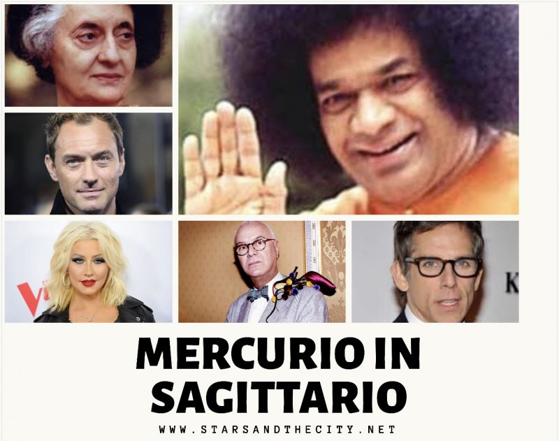 Mercurio in sagittario