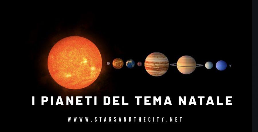 I pianeti del tema natale
