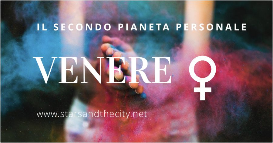 Venere il secondo pianeta personale